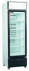 Skope HB400 Small Single Glass Door Display Refrigerator