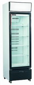 Skope HB400 Small Single Glass Door Display Refrigerator