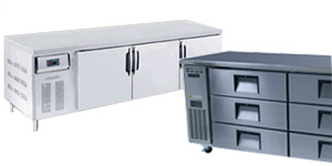 Under Counter and Bench Fridges