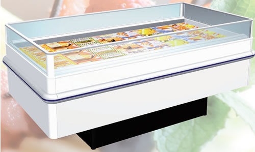Large Image For Bonnet Neve Roller Island Freezers