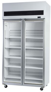 Skope Energy Efficient Double Glass Door Upright Freezer