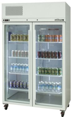 Williams Pearl Star Double Glass Door Fridge