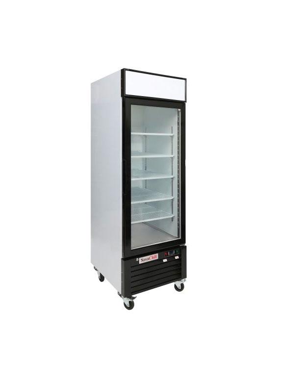NovaChill-SM600GF-GZ-Single-Door-Cabinet
